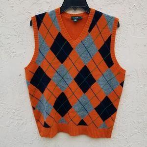J. CREW lamb wool Vest